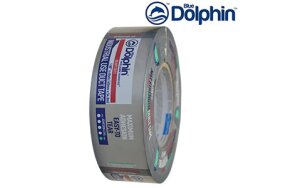 HEAVY DUTY BLUE DOLPHIN DUCT TAPE SILVER 48mmx50m